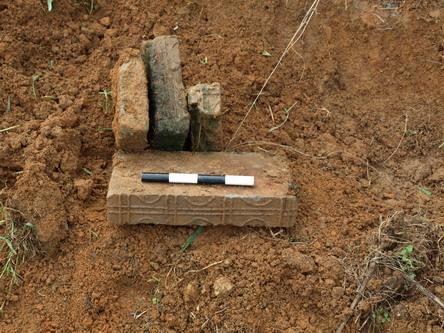 汉代土窑墓葬结构图