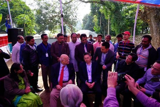 1.6日,孟加拉国财政部长MR. Abul Mal  Abdul  Muhit先生会见中国宾客.JPG